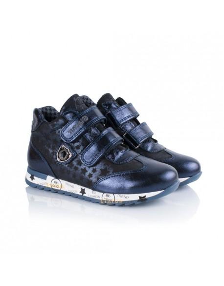 Демисезонные ботинки Tutubi 1006-15 синие