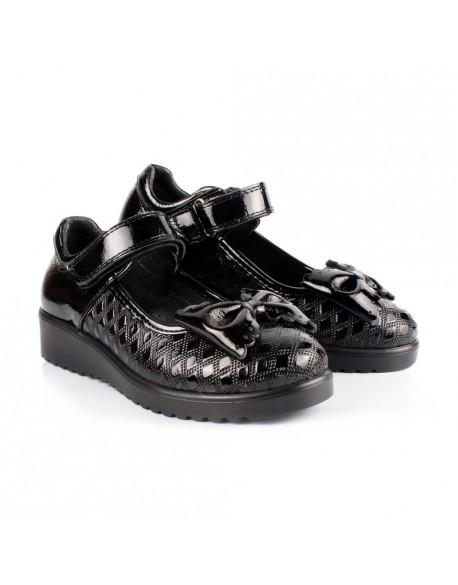 Туфли для девочки черные Турция